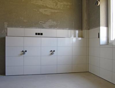 So wird Ihr Badezimmer verputzt