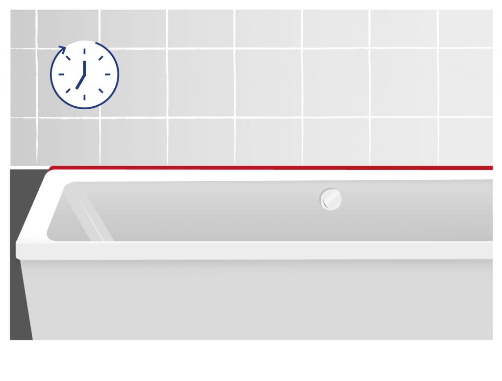 Silikonfugen erneuern Anleitung für neue Fugen im Bad